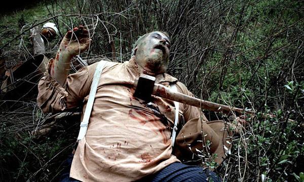 Kelly Parks as dead miner