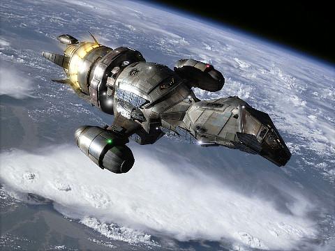 Firefly class cargo ship: SERENITY