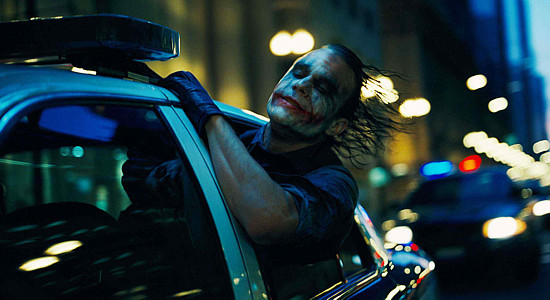 The Joker rides