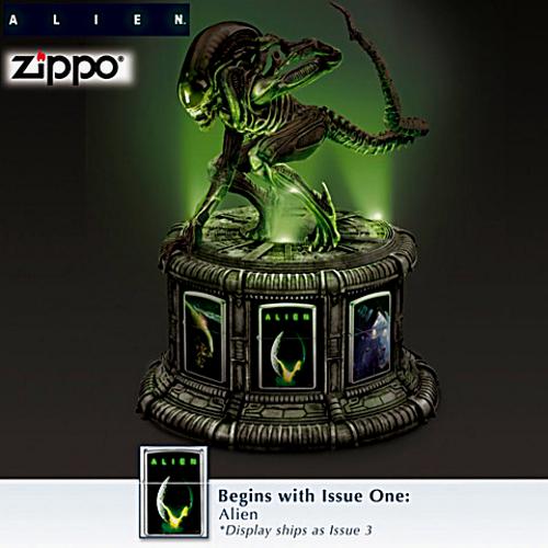 Alien Zippo Lighter