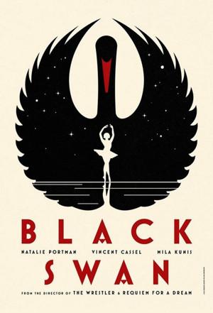 Black Swan, swan poster