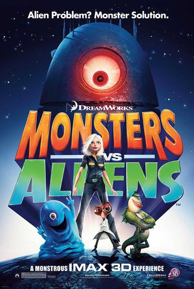Monsters Vs Aliens Movie Review