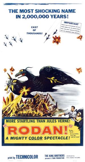 Rodan big poster