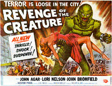 Revenge of the Creature movie poster 2