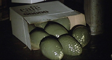 Here are the green eggs...
