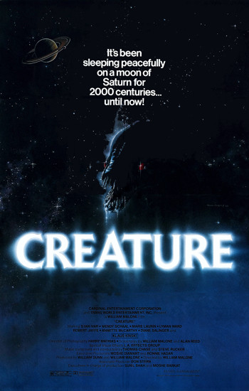 Creature poster by Todd Curtis