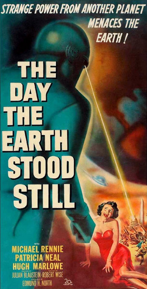 The day The Earth stood Still - long poster