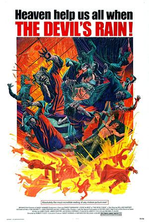 The devil's Rain movie poster