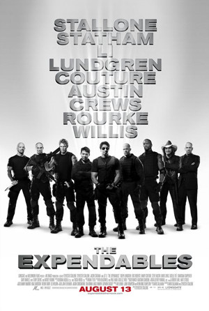 The expendables group shot
