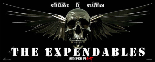 The Expendables banner