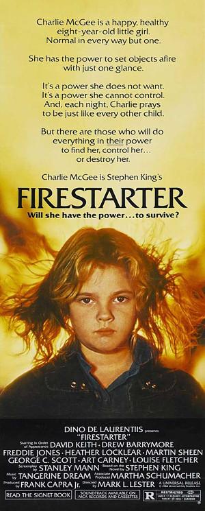 Firestarter long poster