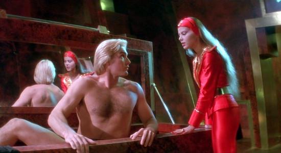 Flash Gordon and Princess Aura