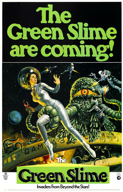 The Green Slime movie poster