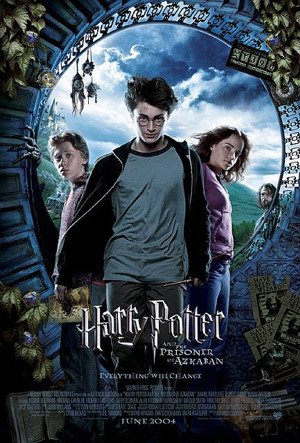 Harry Potter and the Prisoner of Azkaban Trio Circle
