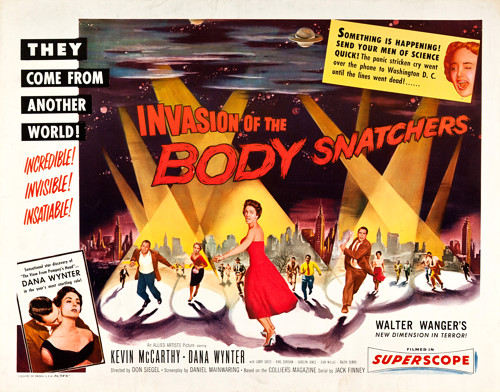 Invasion of the Body Snatchers - 1956 placard