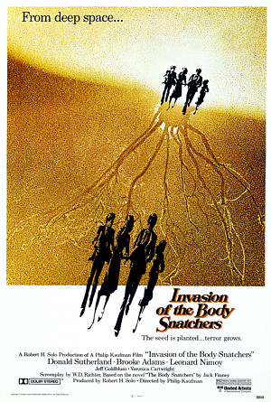 Invasion of the Body Snatchers 1978 poster