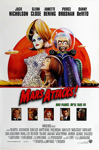 Mars Attacks! Lisa Marie alien