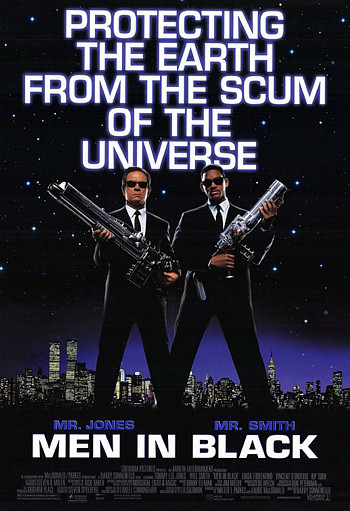 Men in Black: Protecting the Earth From the Scum of the Universe