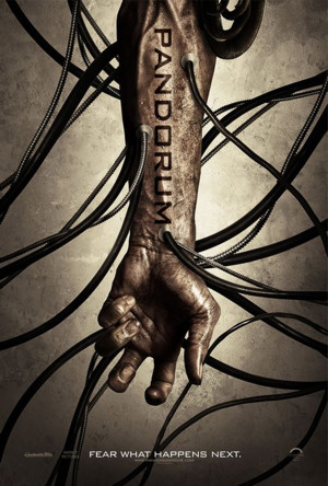 Pandorum arm tube poster