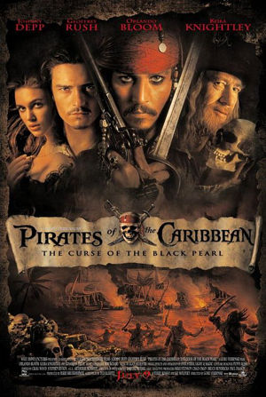 Pitrates of the Caribbean: The Curse of the Black Pearl