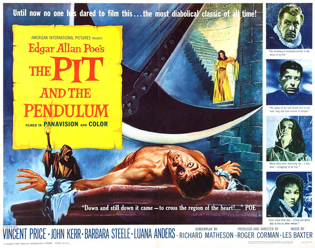 The Pit and the Pendulum - 1961