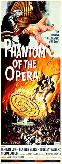 The Phantom of the Opera - long poster