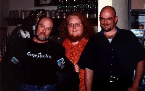 Reggie Bannister, Harry Knowles, & Feo Amante