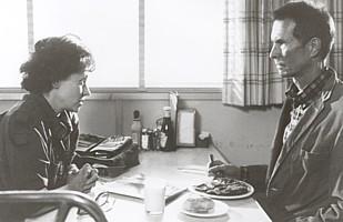 Roberta Maxwell and Anthony Perkins