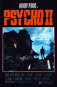 Psycho II movie poster