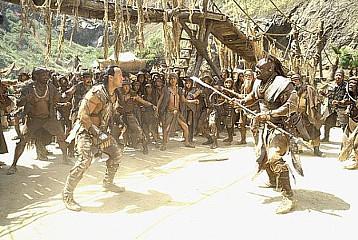 Scorpion King fight