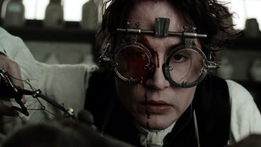 Depp's Ichabod Crane
