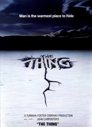 Teaser poster The Thing - 1982