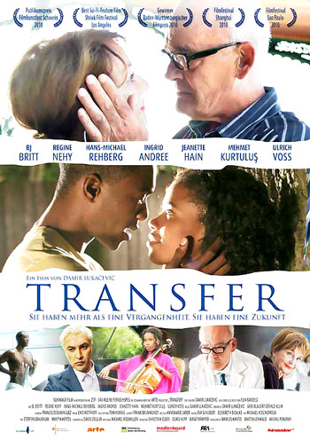 Transfer - terrible poster about falling in love
