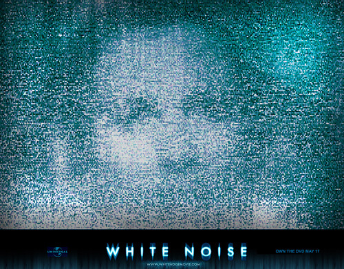 White Noise static face