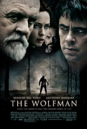 The Wolfman star poster