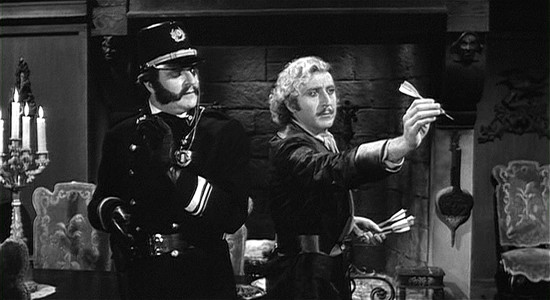 Kenneth Mars and Gene Wilder