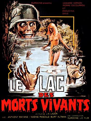 Zombie Lake poster