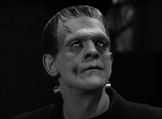 Boris Karloff as the Creature