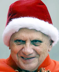 Christmas Pope