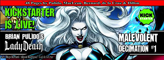 Lady Death Malevolent Decimation #1